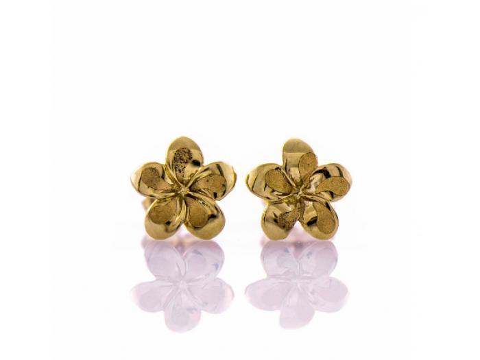 Златни обеци Цветенца