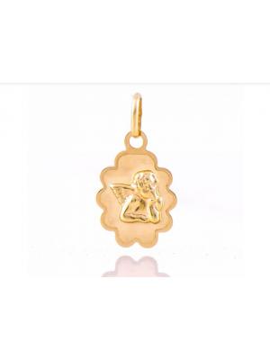 Златен медальон Ангелче