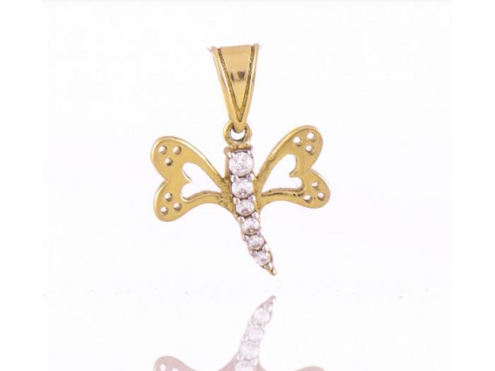 Златна висулка Пеперуда