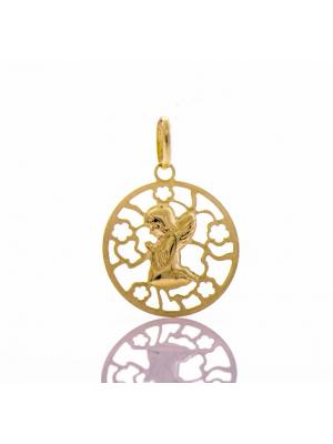 Златна висулка Ангелче