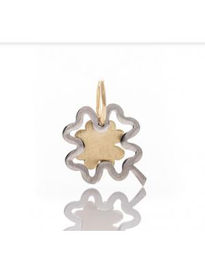 Златна висулка Четирилистна детелина