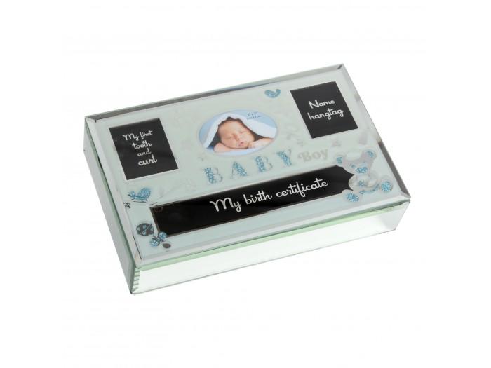 Стъклена кутия за спомени за момче