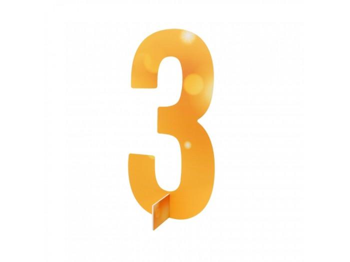 Настолна цифра № 3