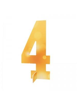 Настолна цифра № 4