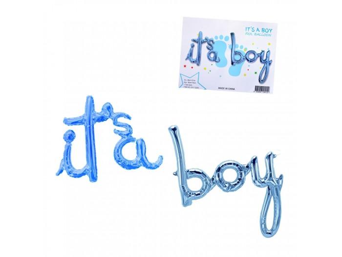 "Балони надпис ""It's a Boy"""