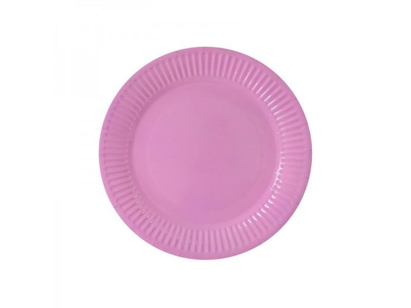 Цветни парти чинии 10 броя