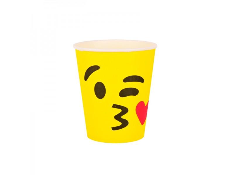 "Парти чашки ""Емотинки"" 10 броя"