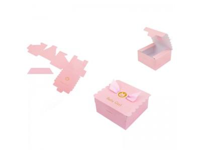 Подаръчни картонени кутийки - 10 броя Розови/ Сини