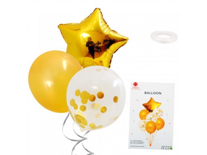 "Комплект балони ""Звезда"" - 7 броя"