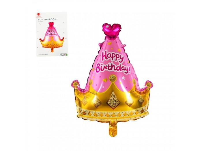 "Балон корона ""Happy Birthday"""