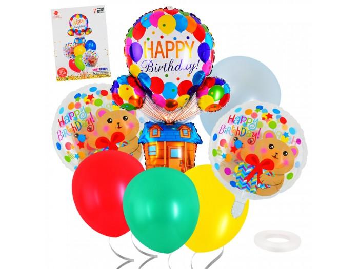 "Комплект балони ""Happy Birthday"" 7 броя"