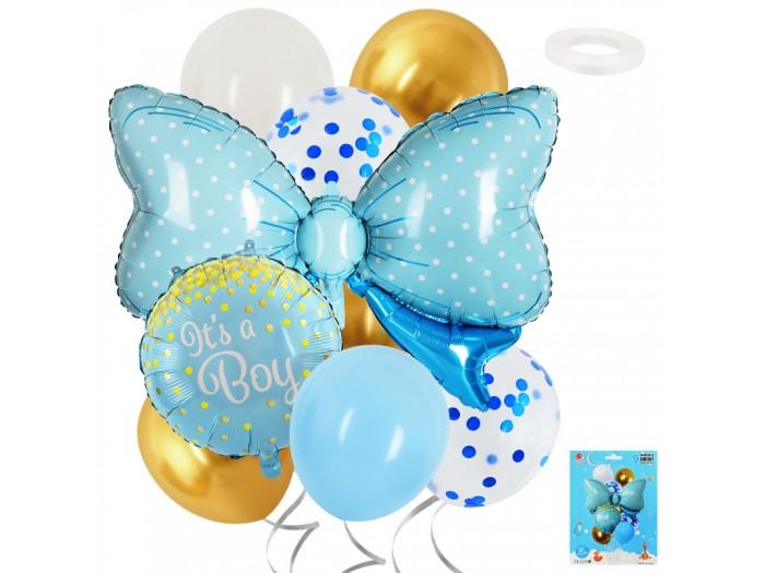 "Комплект балони Панделка ""It's a Boy"" 9 броя"