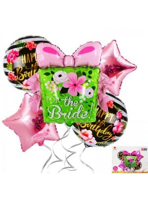 "Комплект балони ""For the Bride"" 5 броя"
