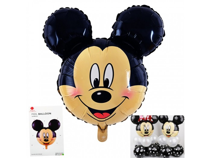 """Балон """"Мики Маус"""" фолио"""