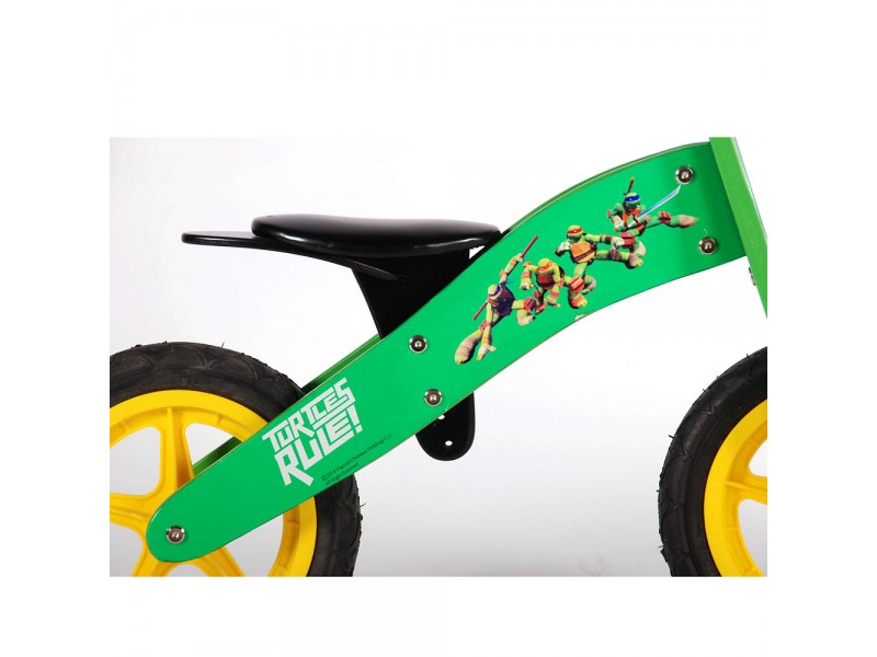Дървено колело за баланс Костенурките нинджа, 12 инча