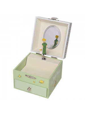 Музикална кутия Малкият принц - зелена