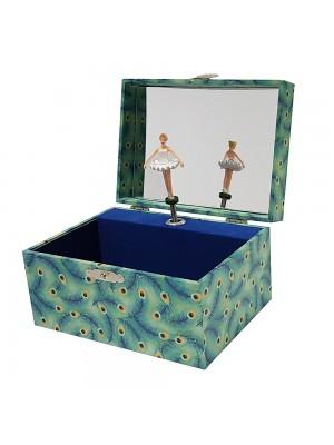 Музикална кутия Паун