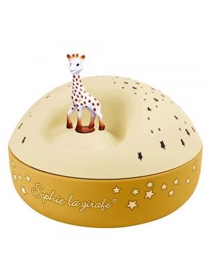 Прожектор Звездно небе с музика - Жирафчето Софи