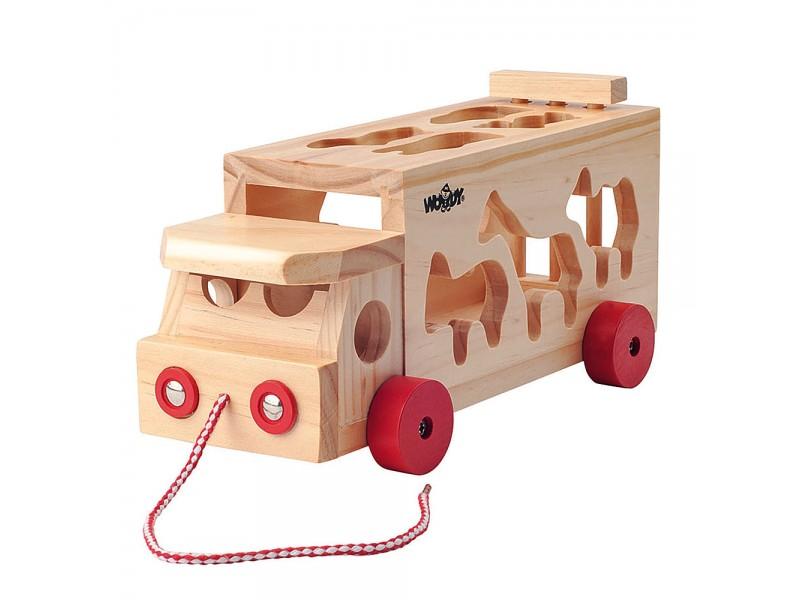 Камион сортер с животни