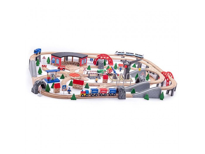 Влак с релси, Индустриална зона 200 части