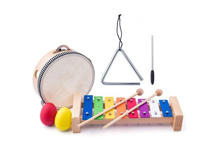 Дървени музикални инструменти Малкият музикант