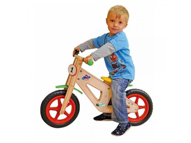Дървено колело без педали