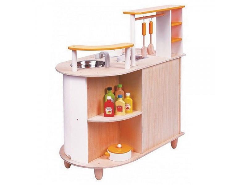 Детска дървена кухня Алисия