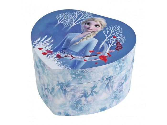 Музикална кутия голямо сърце Елза от Замръзналото кралство