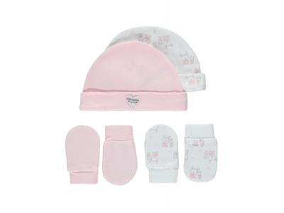 EX-George комплект шапки с ръкавички с един пръст