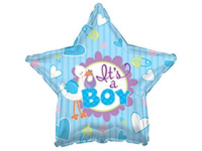 45 см ФОЛИО балон момче – Звезда