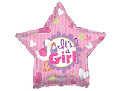 45 см ФОЛИО балон момиче – Звезда
