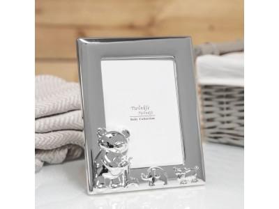 Зашеметяваща рамка за снимка с размер 9х13см със сребърно покритие