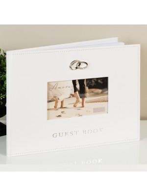 Красива сватбена книга за гости 40 страници