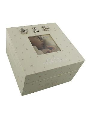 Кутия за съхранение на първите дрешки или спомени BAMBINO