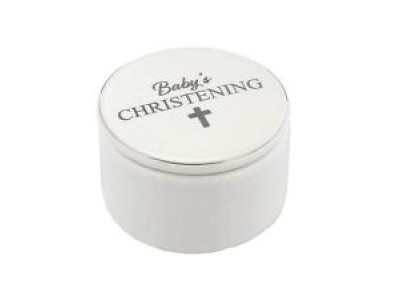 Керамична кутийка за кръщене