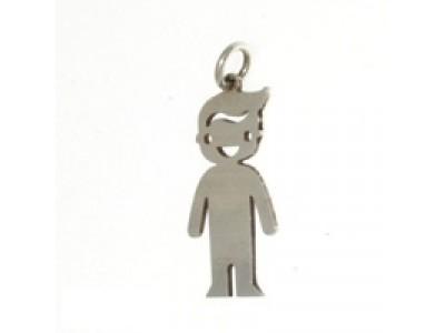 Сребърен медальон за бебе с включено гравиране