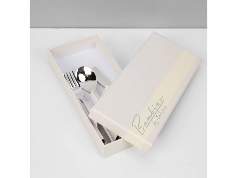 Комплект прибори Bambino със сребърно покритие