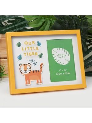 """Прекрасна рамка """"усмивка на тигъра """"за снимка с рамер 10х15см."""