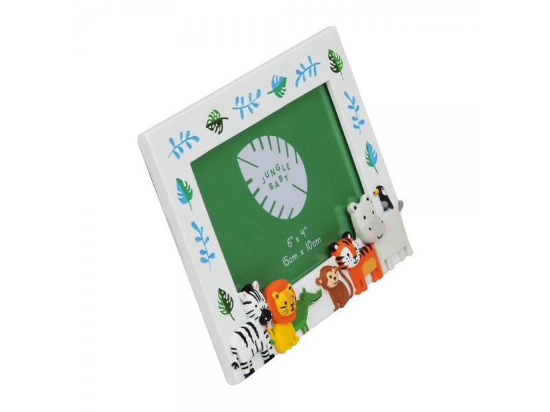 Рамка 3D Jungle baby за снимка с размер 15х10см