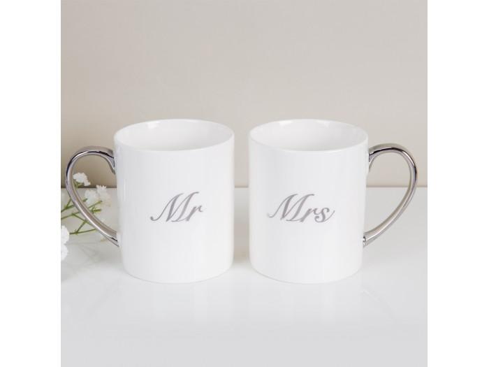 """Amore подаръчен комплект """"Мистър"""" и """"Мисис"""" от чаши"""
