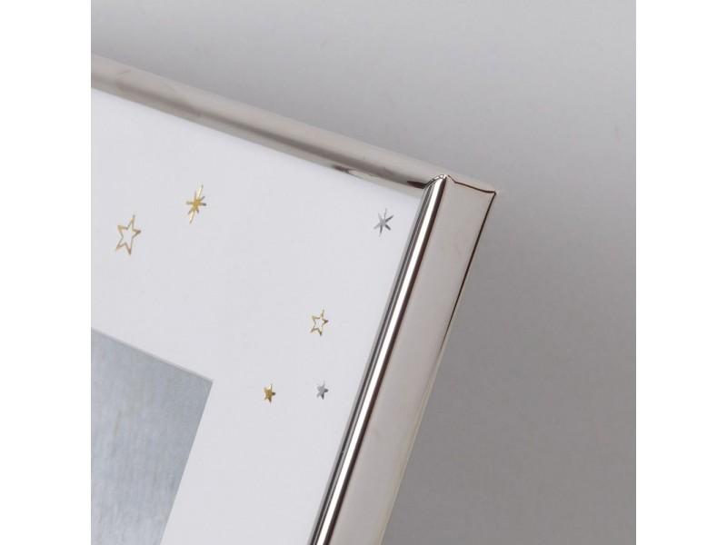 """Рамка за снимка с размер 10х15см """"Моята първа коледа"""" със сребърно покритие"""
