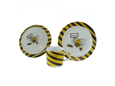 Детски сервиз за хранене Пчеличка
