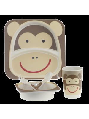 Детски комплект за хранене - Бамбук
