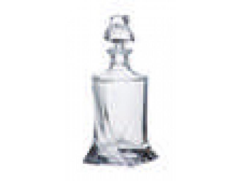 Комплект гарафа с 6 чаши Бохемия Куадро